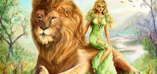 Венера во Льве у мужчины и женщины