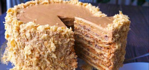 Торт «Наполеон» по-новому - нереально вкусный!