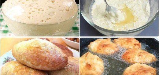 Дрожжевое тесто «Для ленивых» быстрого приготовления - готовим за 5 минут, используем через 2 часа!