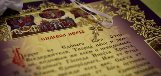 Символ веры: объяснение с православной точки зрения