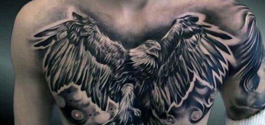 Тату орёл: значение для мужчин, девушек и заключённых