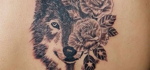 Значение тату волка - для девушек и мужчин