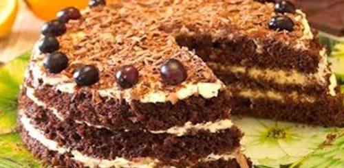 Быстрый торт за 15 минут - нежный, вкусный, воздушный!