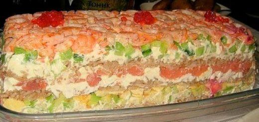 Салат «Суши» — невероятно вкусно и не отличить от настоящих!