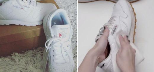 Простой способ вернуть кроссовкам былую белизну всего за пару минут
